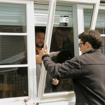 Reinstalling timber frame retrofit double glazing
